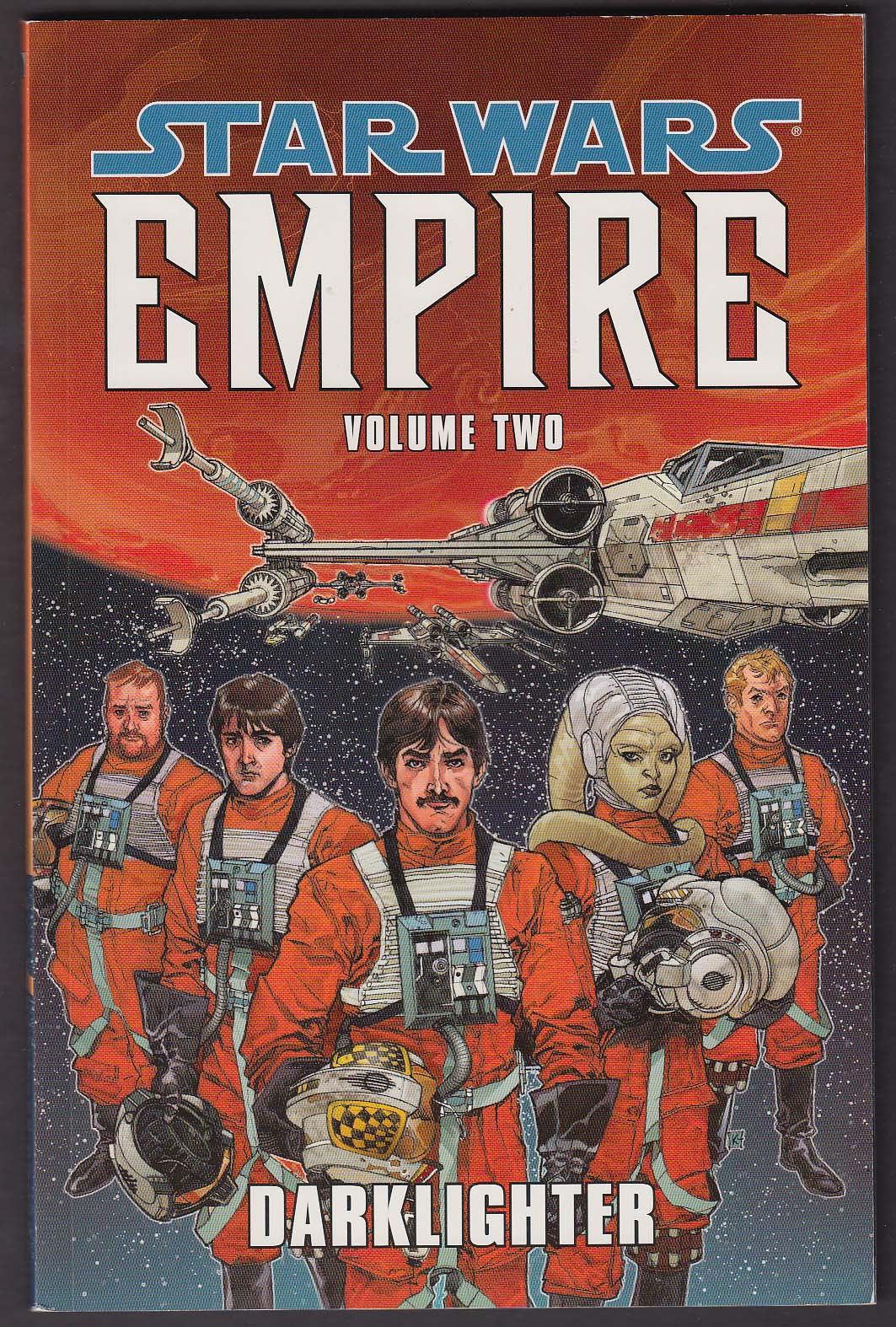 Star Wars Empire Vol 2 Dark Horse comic book graphic novel 1st printing 2004