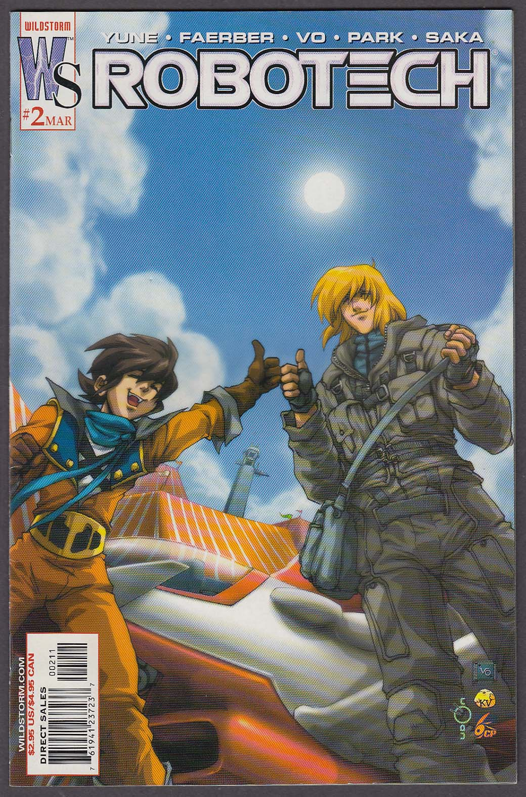 Image for ROBOTECH #2 WildStorm comic book 3 2003