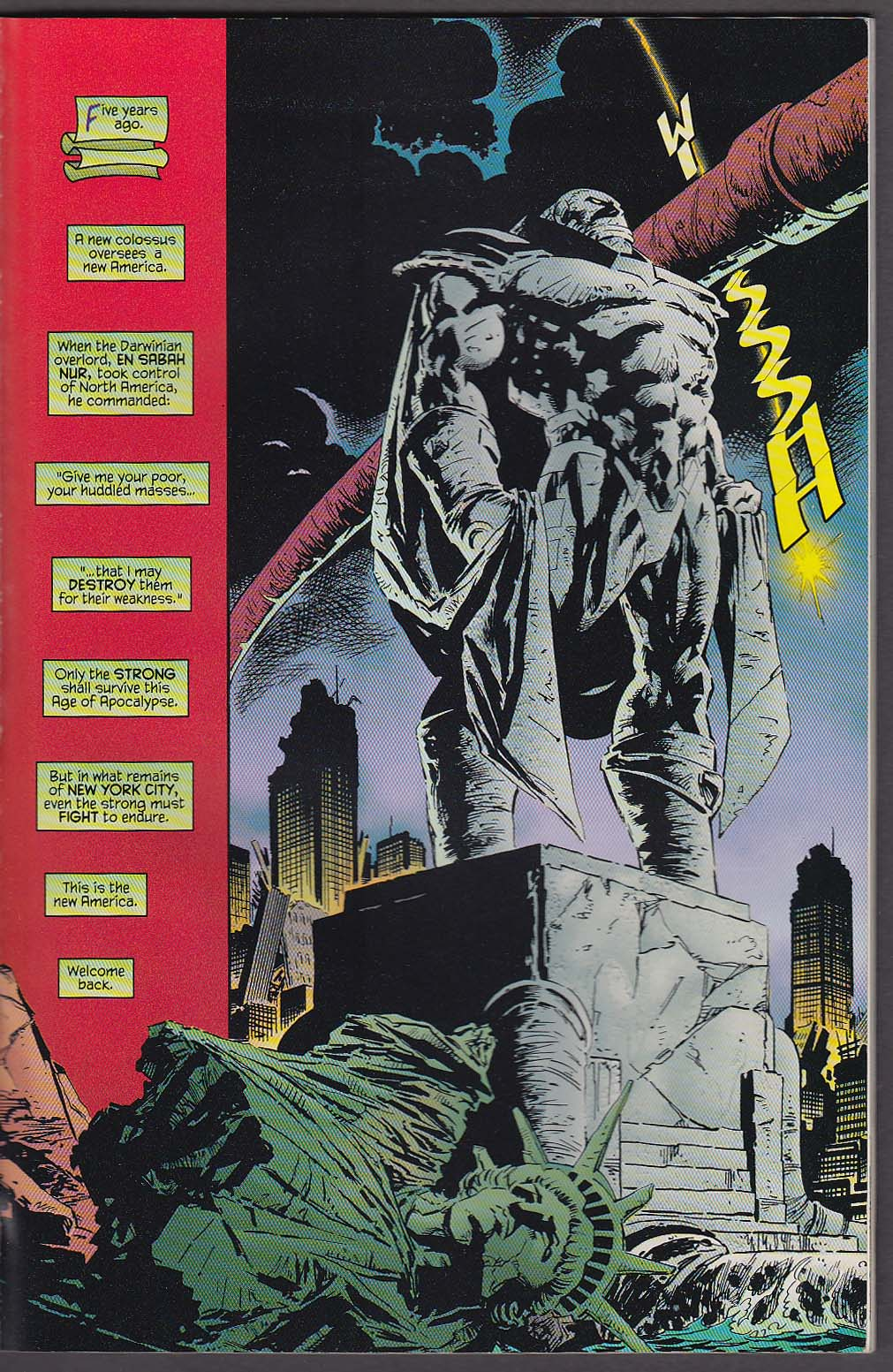 Image for TALES from the AGE of APOCALYPSE: SINISTER BLOODLINES Marvel comic book 12 1997