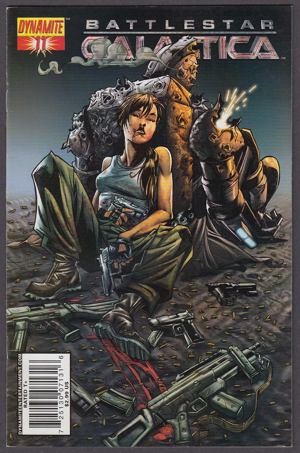 BATTLESTAR GALACTICA #11 Dynamite comic book 2007 1st Printing