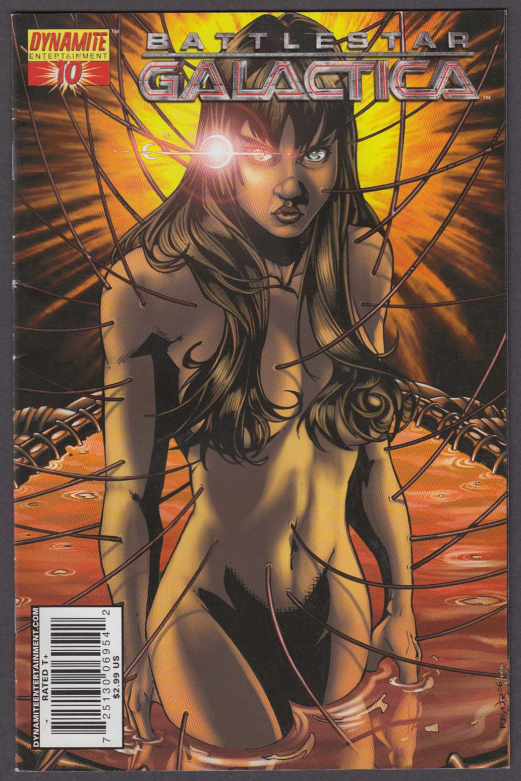 Image for BATTLESTAR GALACTICA #10 Dynamite comic book 2007 1st Printing
