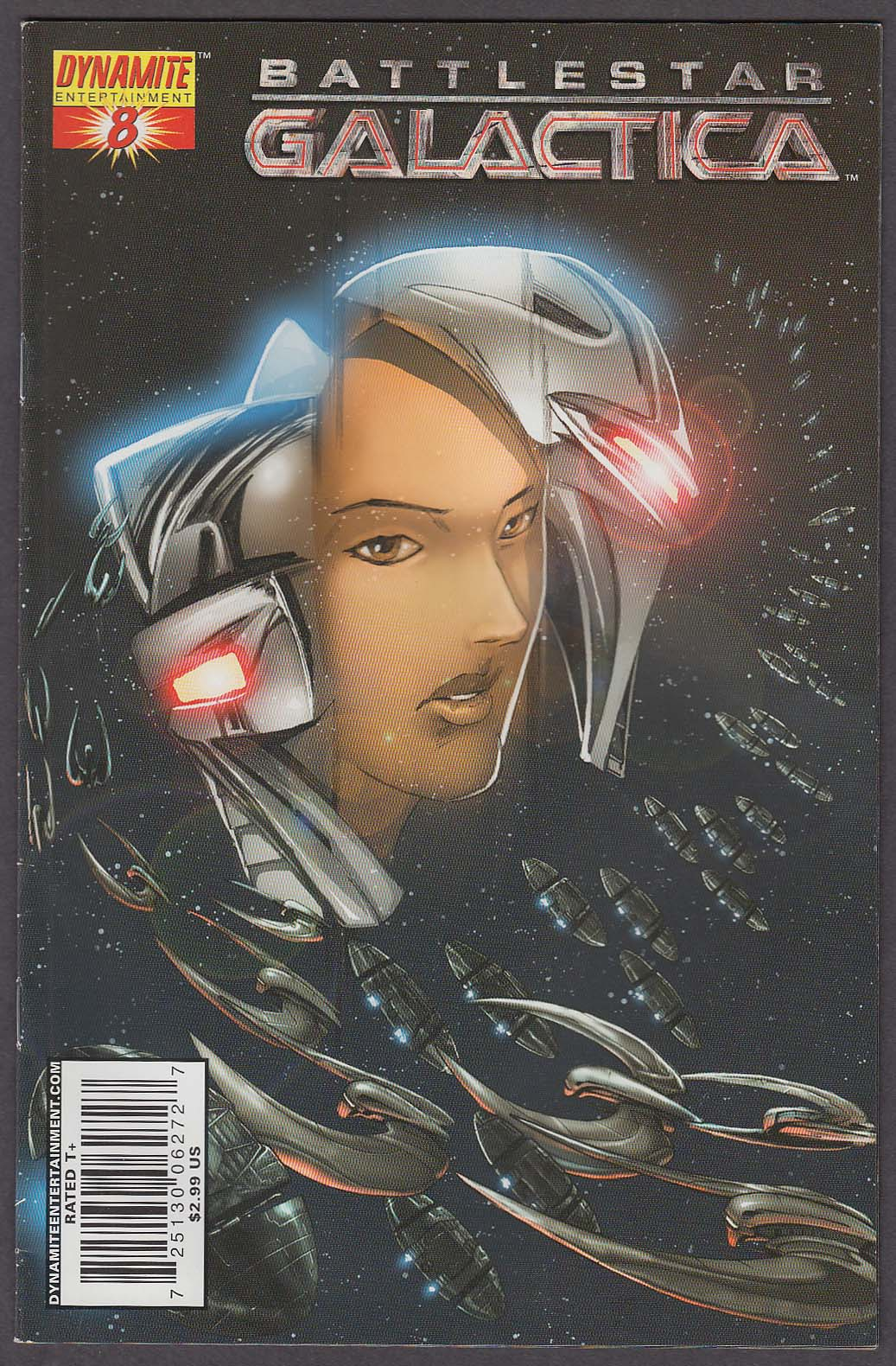 Image for BATTLESTAR GALACTICA #8 Dynamite comic book 2007 1st Printing