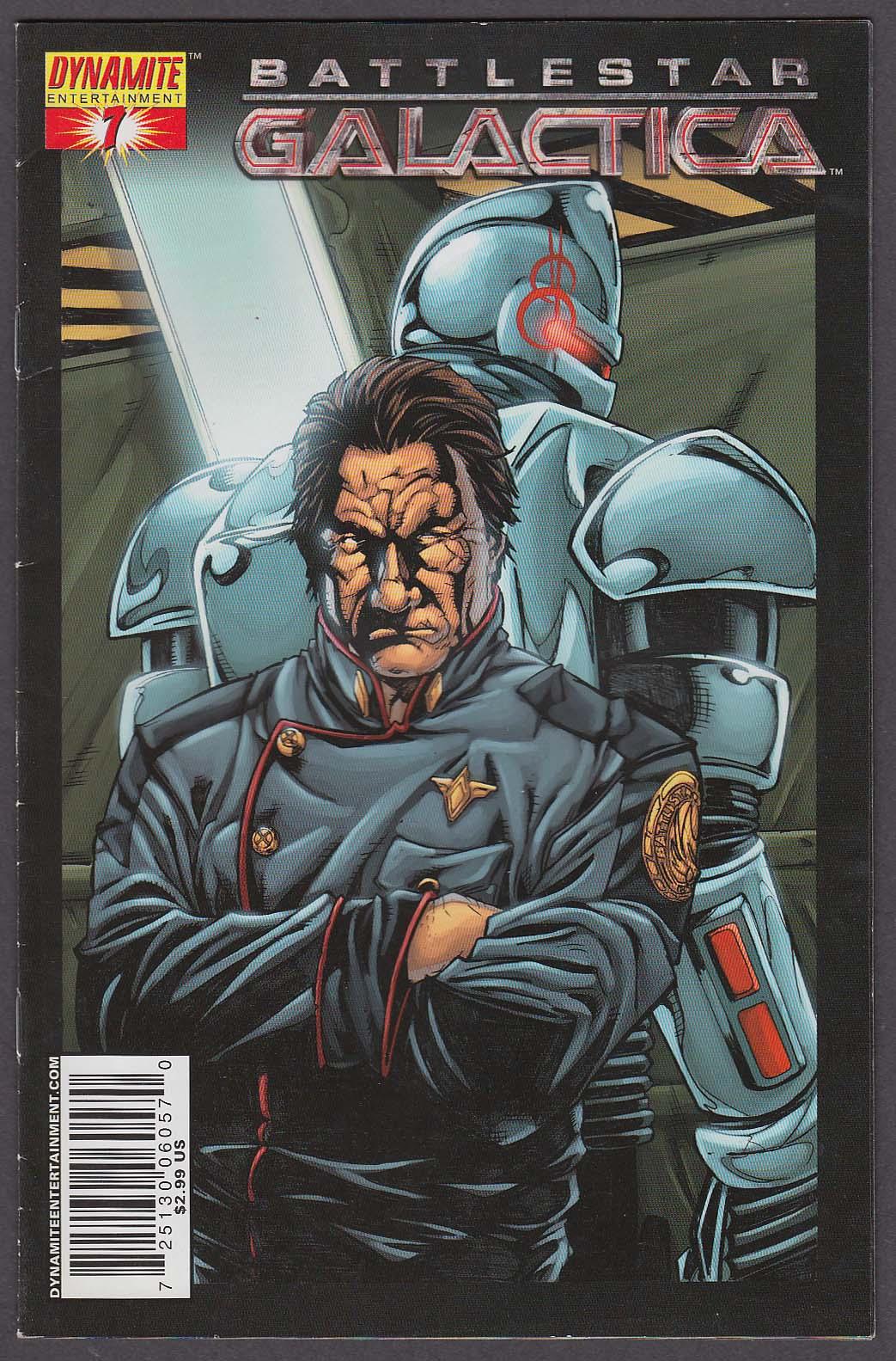 BATTLESTAR GALACTICA #7 Dynamite comic book 2007 1st Printing