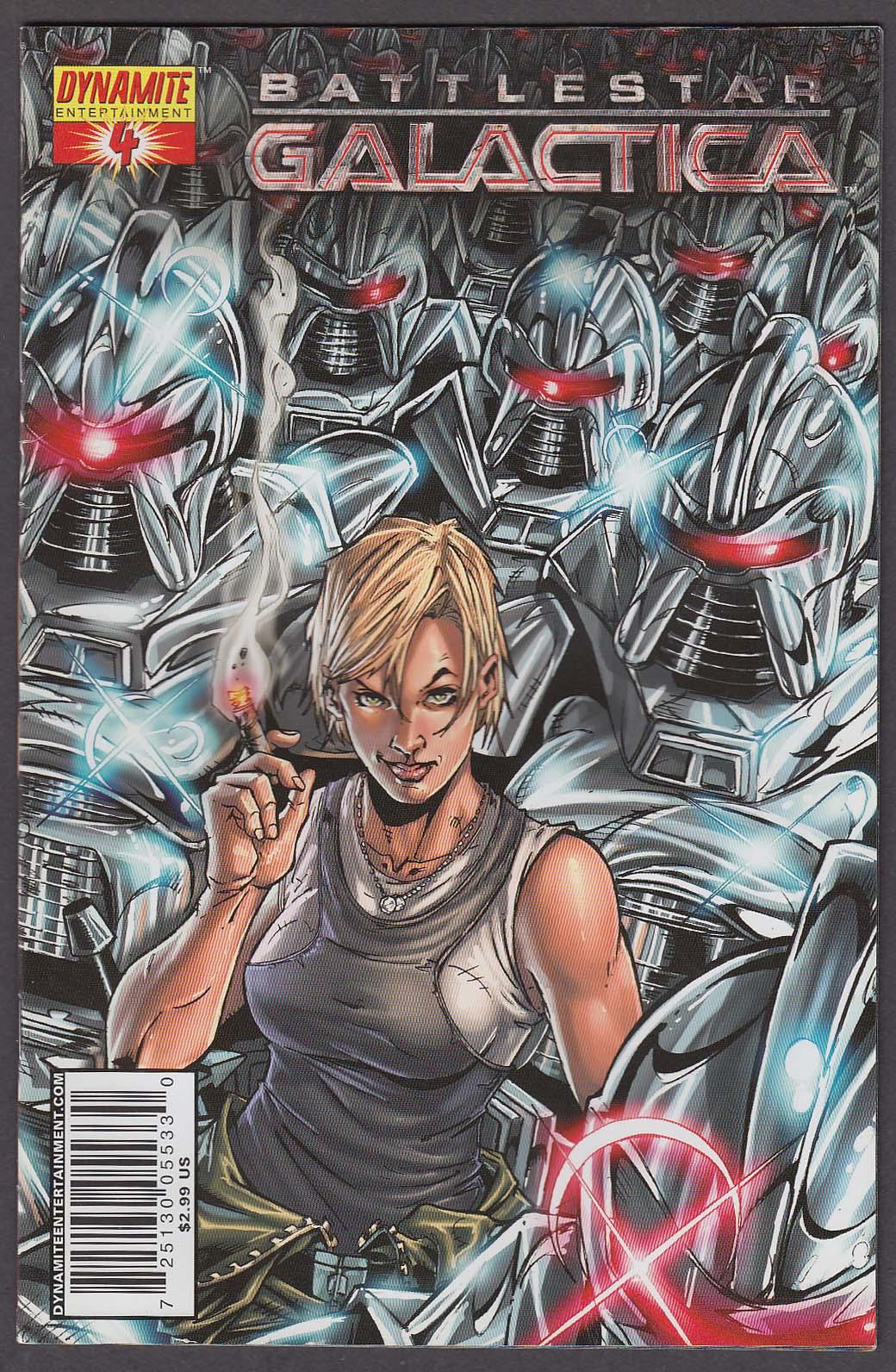 BATTLESTAR GALACTICA #4 Dynamite comic book 2006 1st Printing