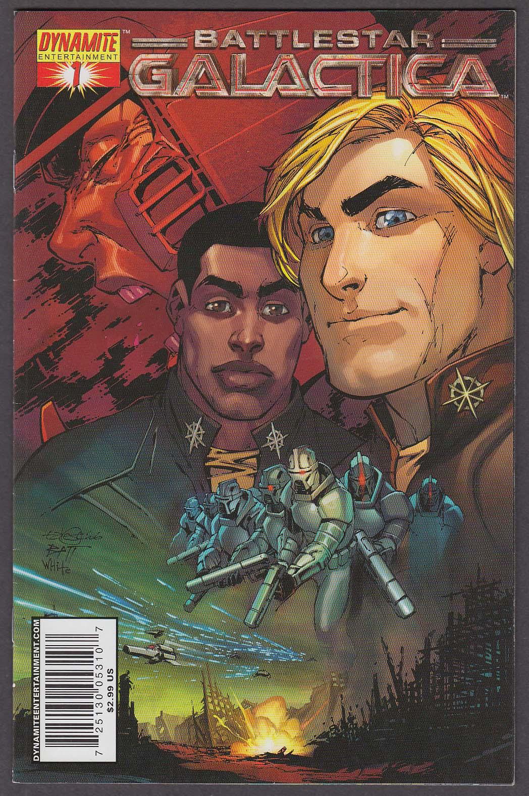 BATTLESTAR GALACTICA #1 Dynamite comic book 2006 1st Printing