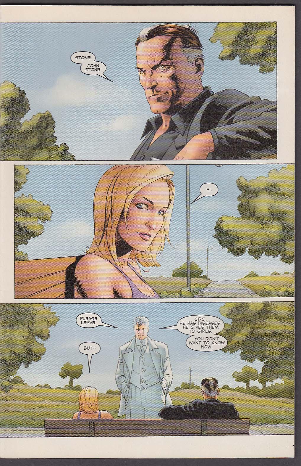 PLANETARY #18 The Gun Club WildStorm comic book 2 2004