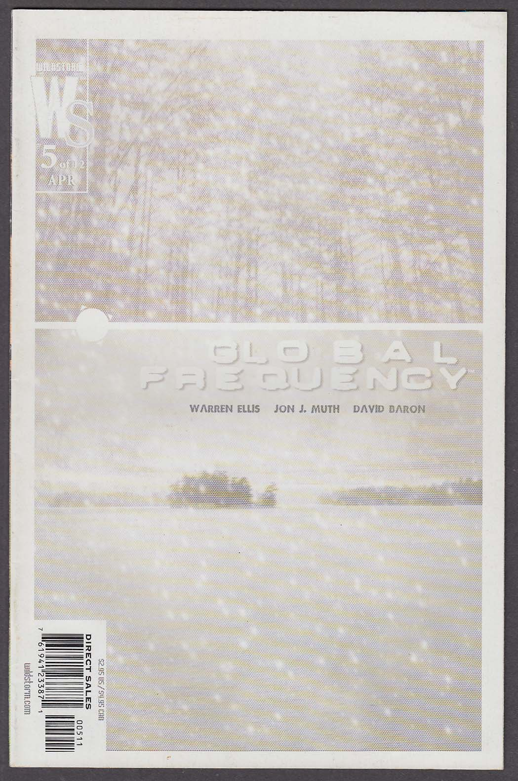 Image for GLOBAL FREQUENCY #5 WildStorm comic book 4 2003