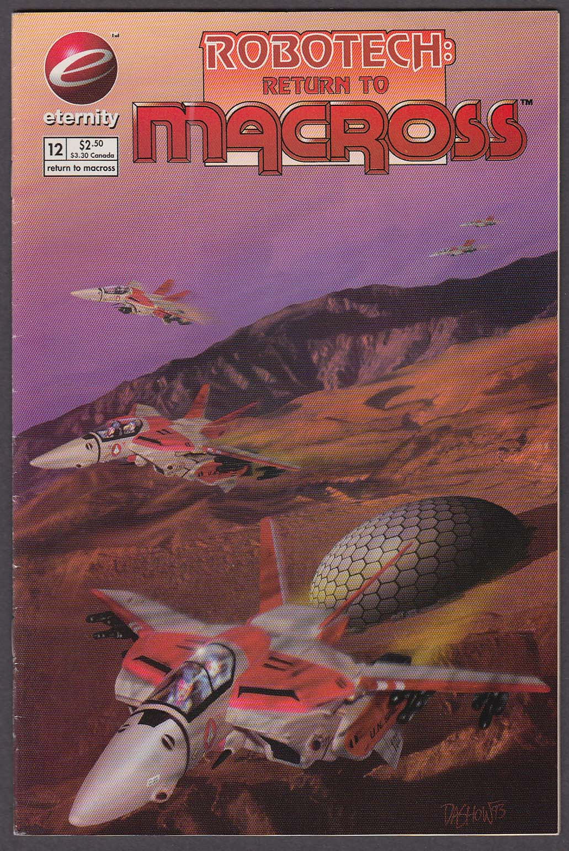 Image for ROBOTECH: Return to Macross #12 Eternity comic book 3 1994