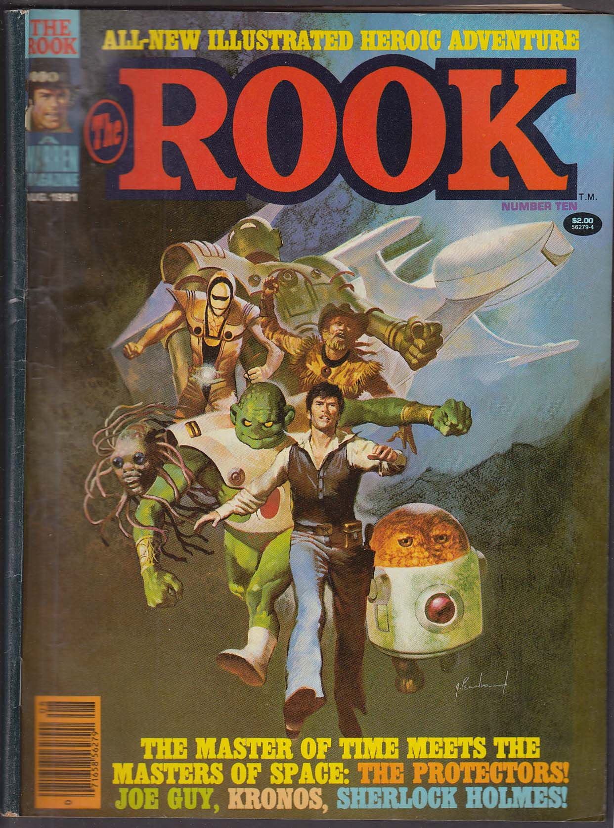 The ROOK #10 Warren comic magazine 8 1981