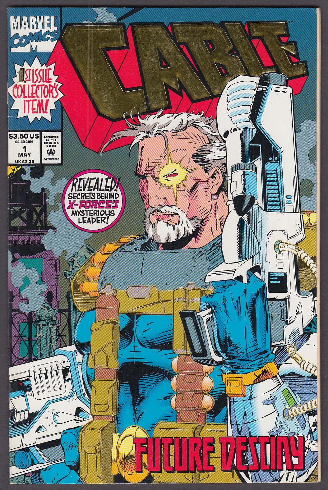 CABLE #1 Marvel comic book 5 1993