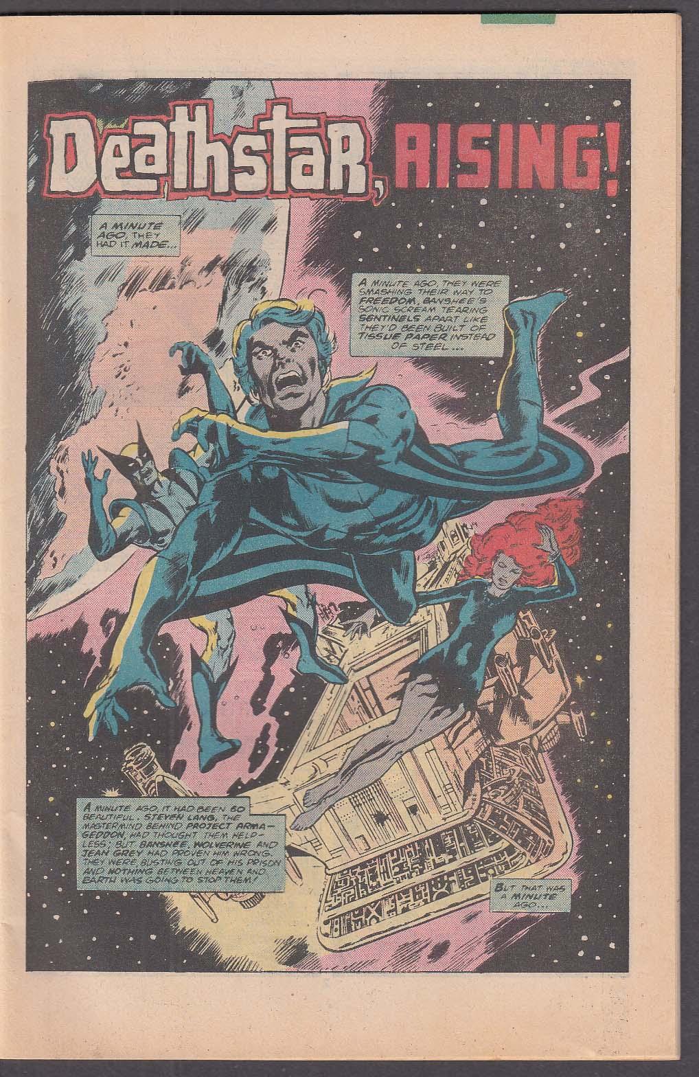CLASSIC X-MEN #7 Marvel comic book 3 1987