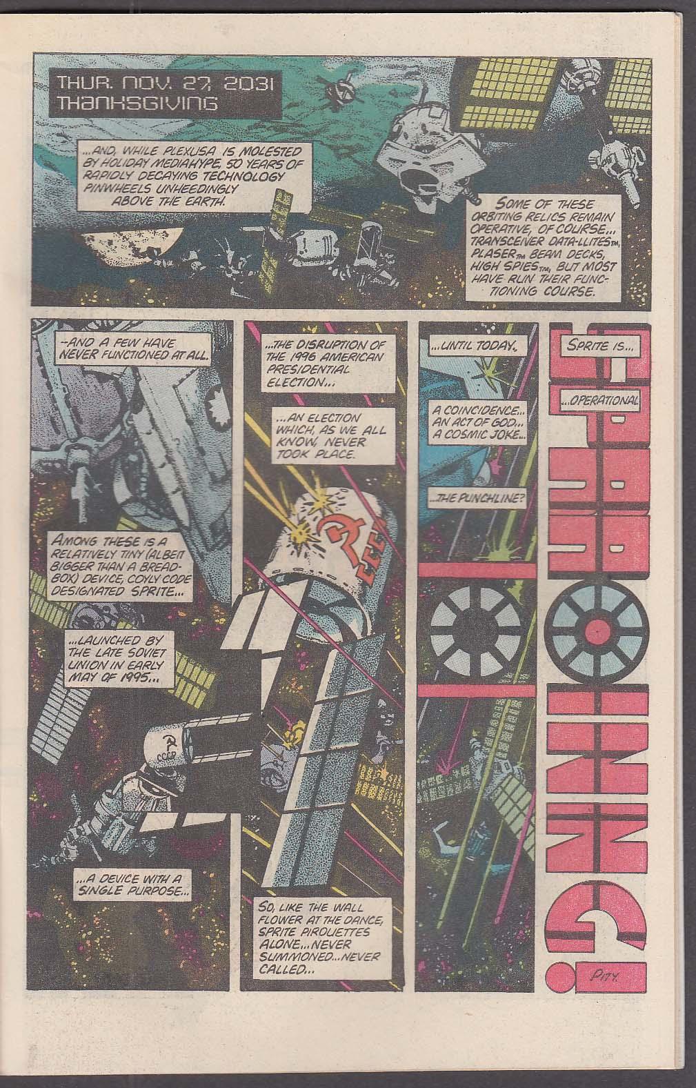 AMERICAN FLAGG! #4 First comic book 1 1984