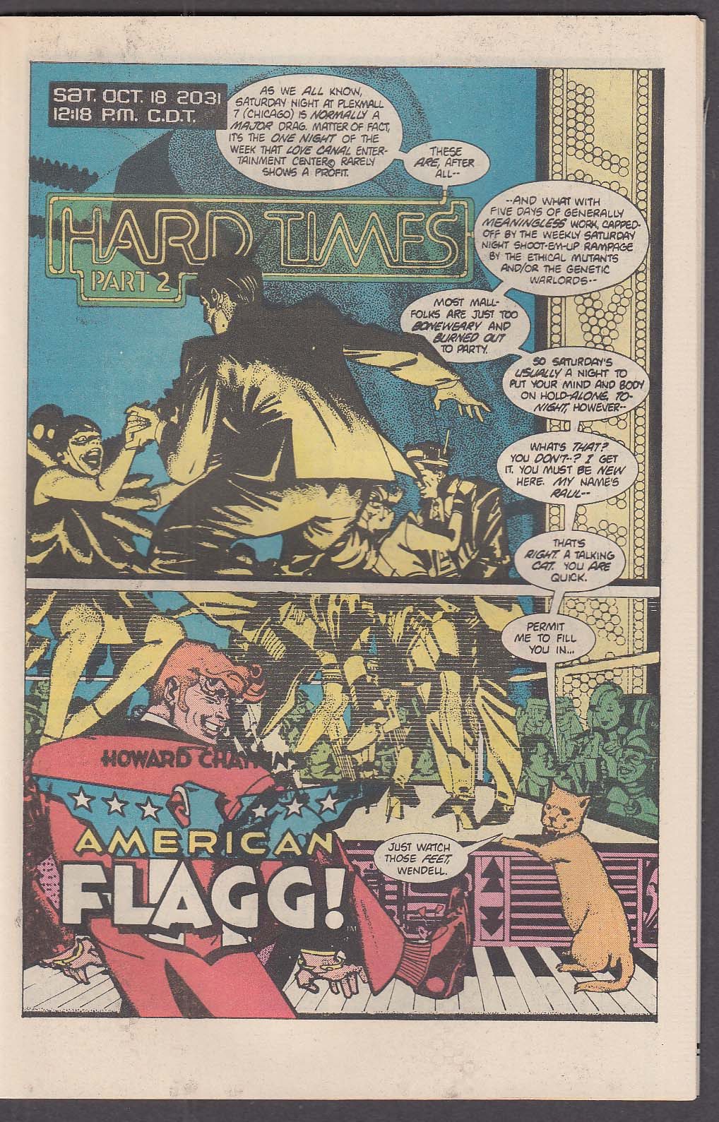 AMERICAN FLAGG! #2 First comic book 11 1983