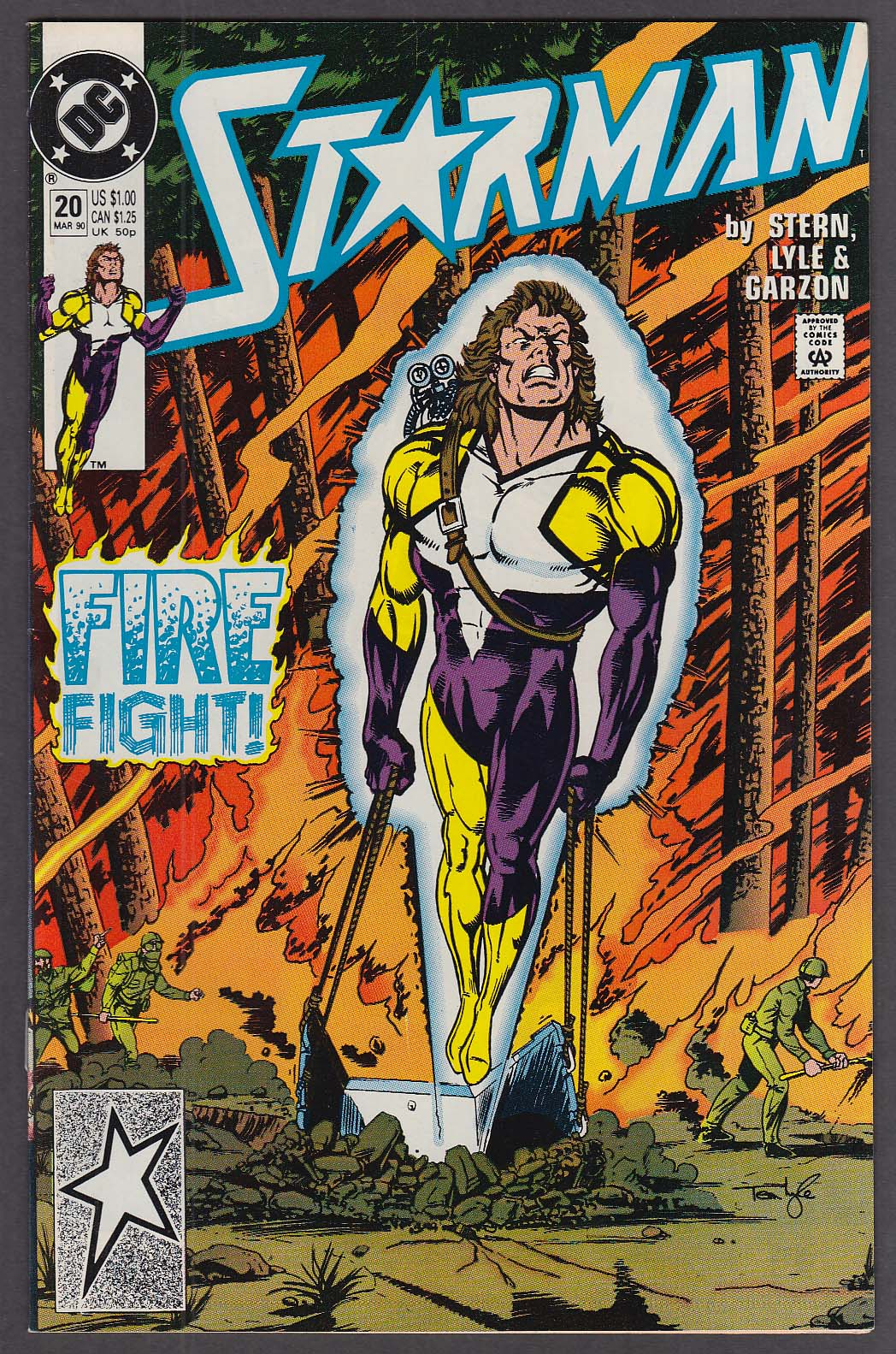 STARMAN #20 DC comic book 3 1990