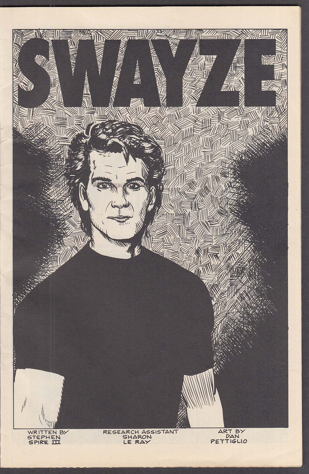 PERSONALITY COMICS PRESENTS Patrick Swayze & Demi Moore comic book 1991