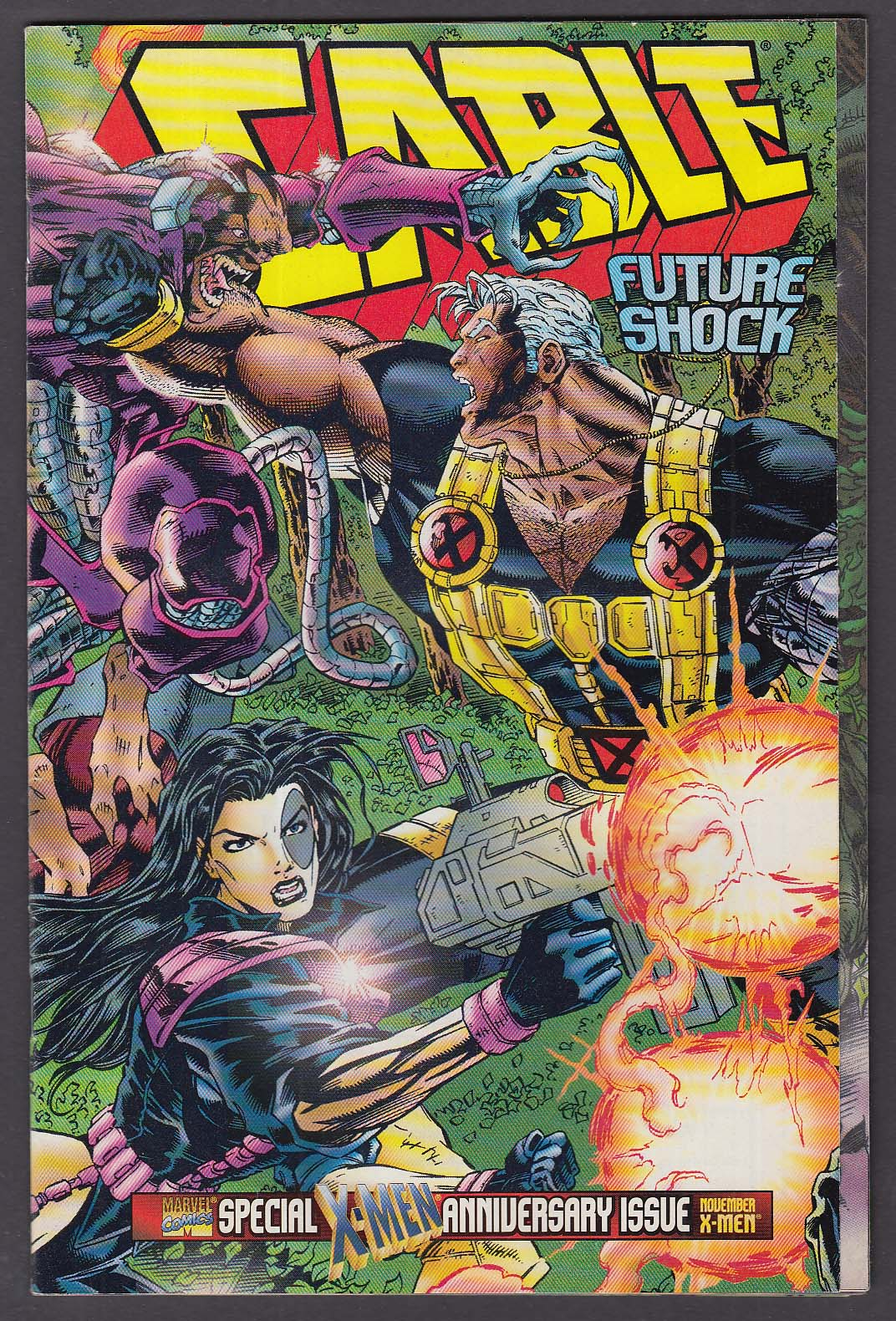 CABLE #25 Marvel comic book 11 1995