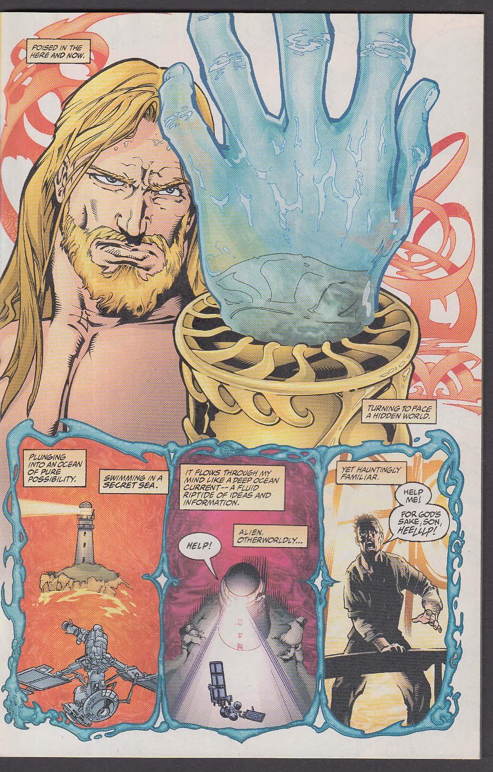 AQUAMAN #2 DC comic book 3 2003