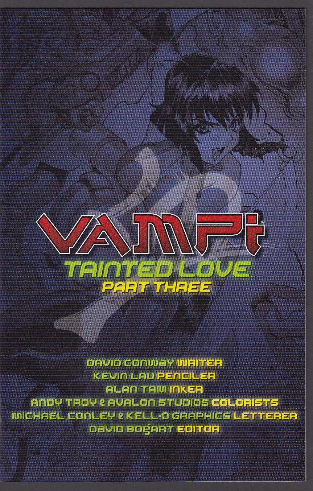 VAMPI #12 Anarchy Studios comic book 11 2001