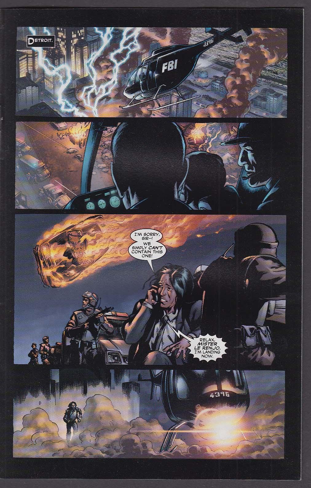21 DOWN #8 WildStorm comic book 6 2003