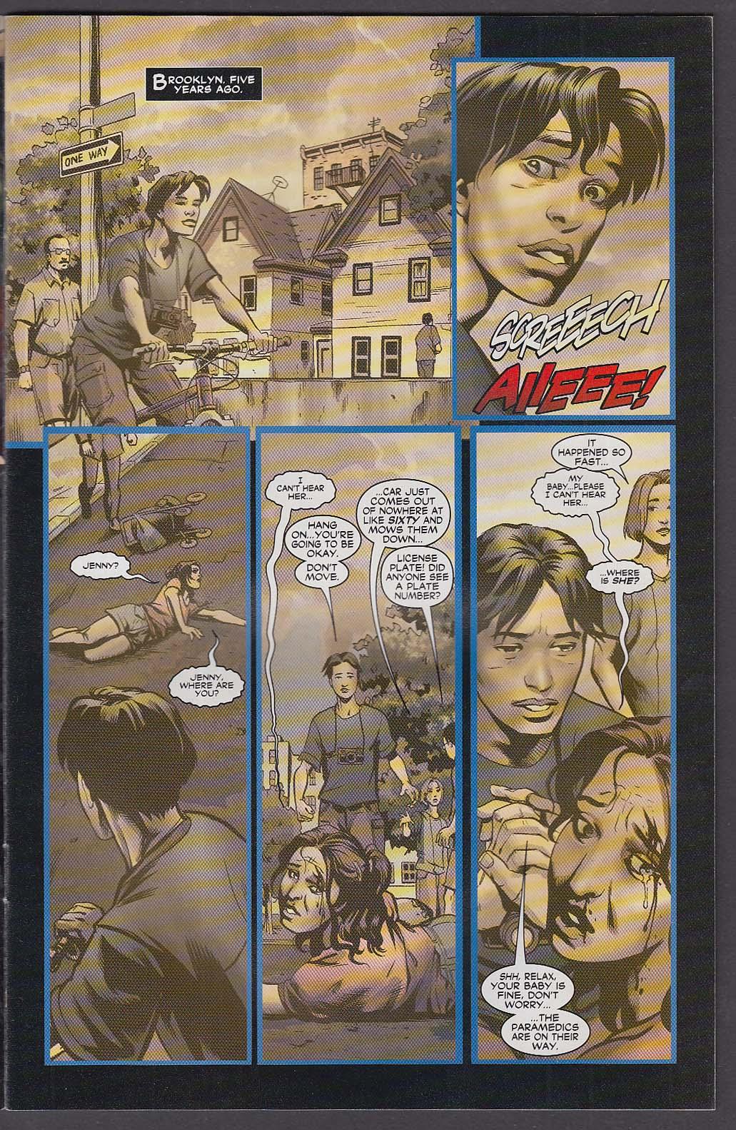 21 DOWN #7 WildStorm comic book 5 2003