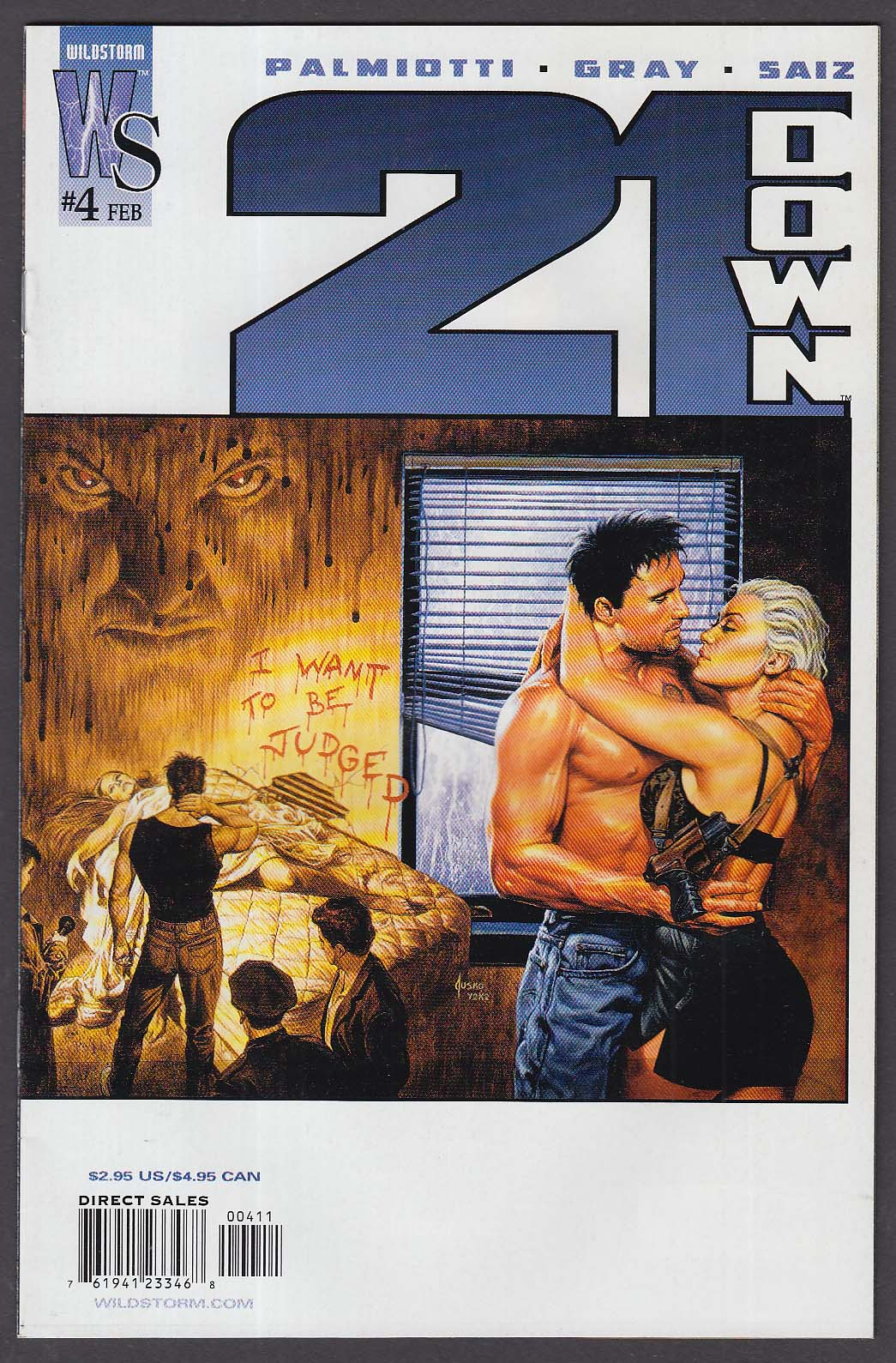 21 DOWN #4 WildStorm comic book 2 2003