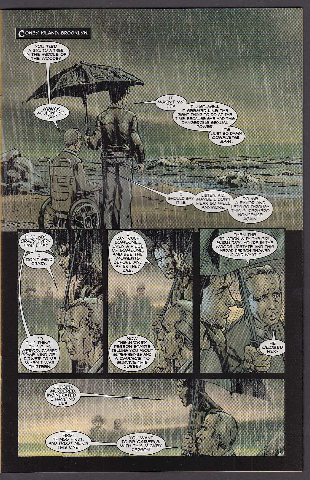 21 DOWN #4 WildStorm comic book 2 2003