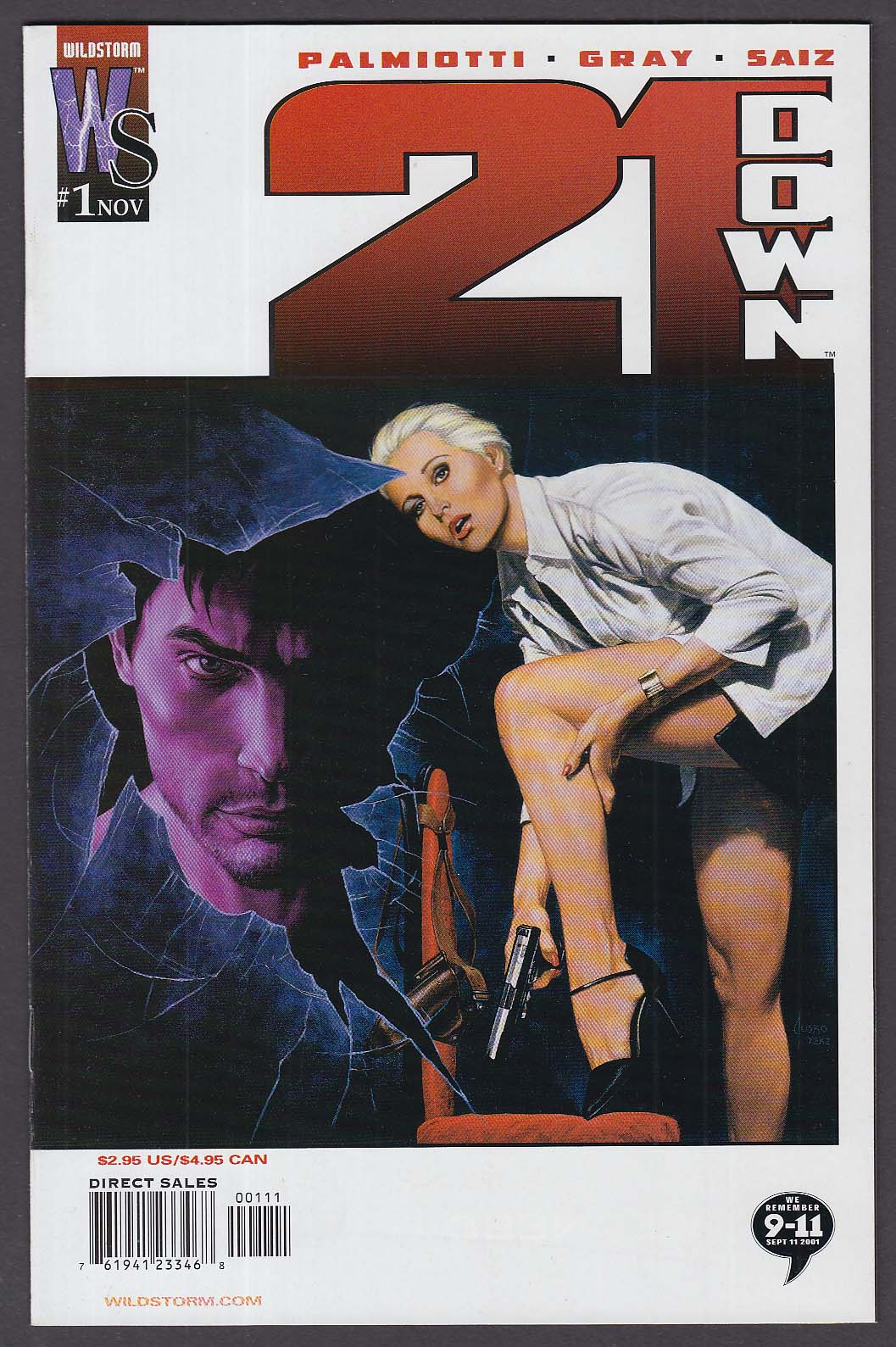 21 DOWN #1 WildStorm comic book 11 2002