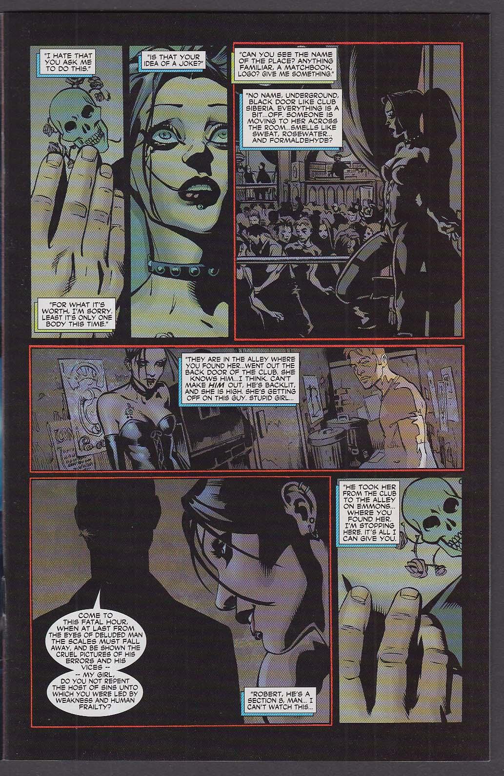 21 DOWN #1 WildStorm comic book 11 2002