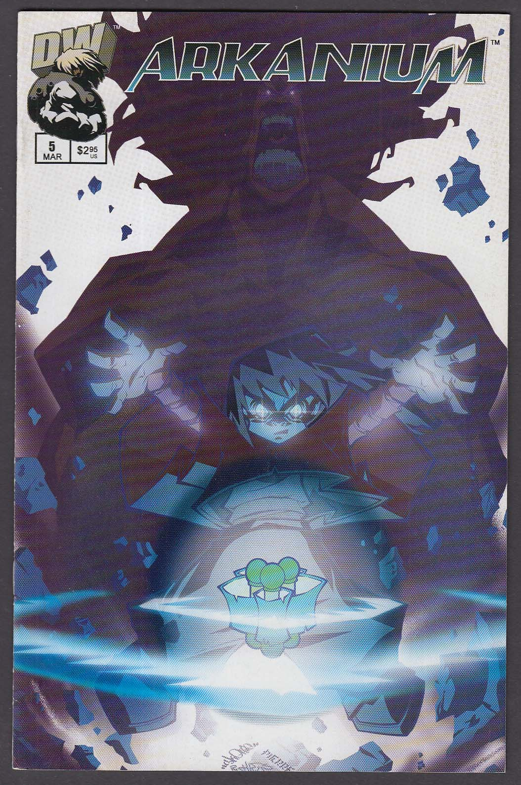 ARKANIUM #5 DW comic book 3 2003 1st printing