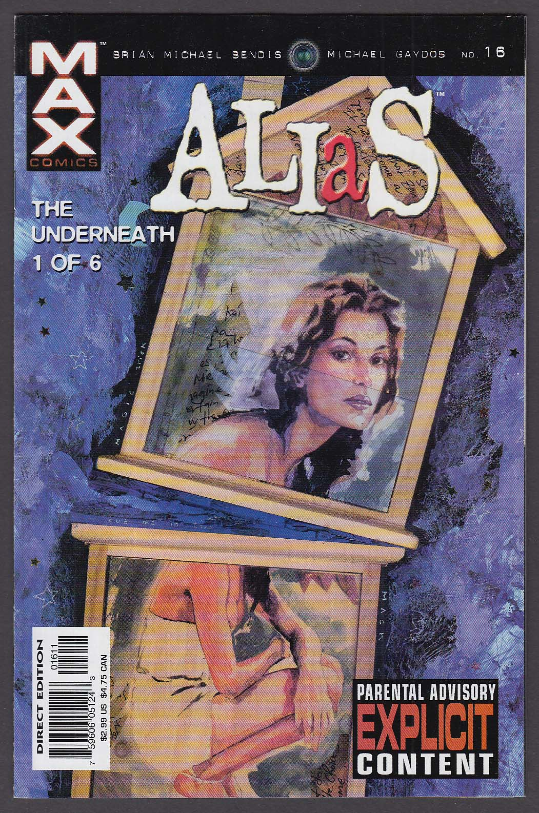 ALIAS #16 Max comic book 1 2003