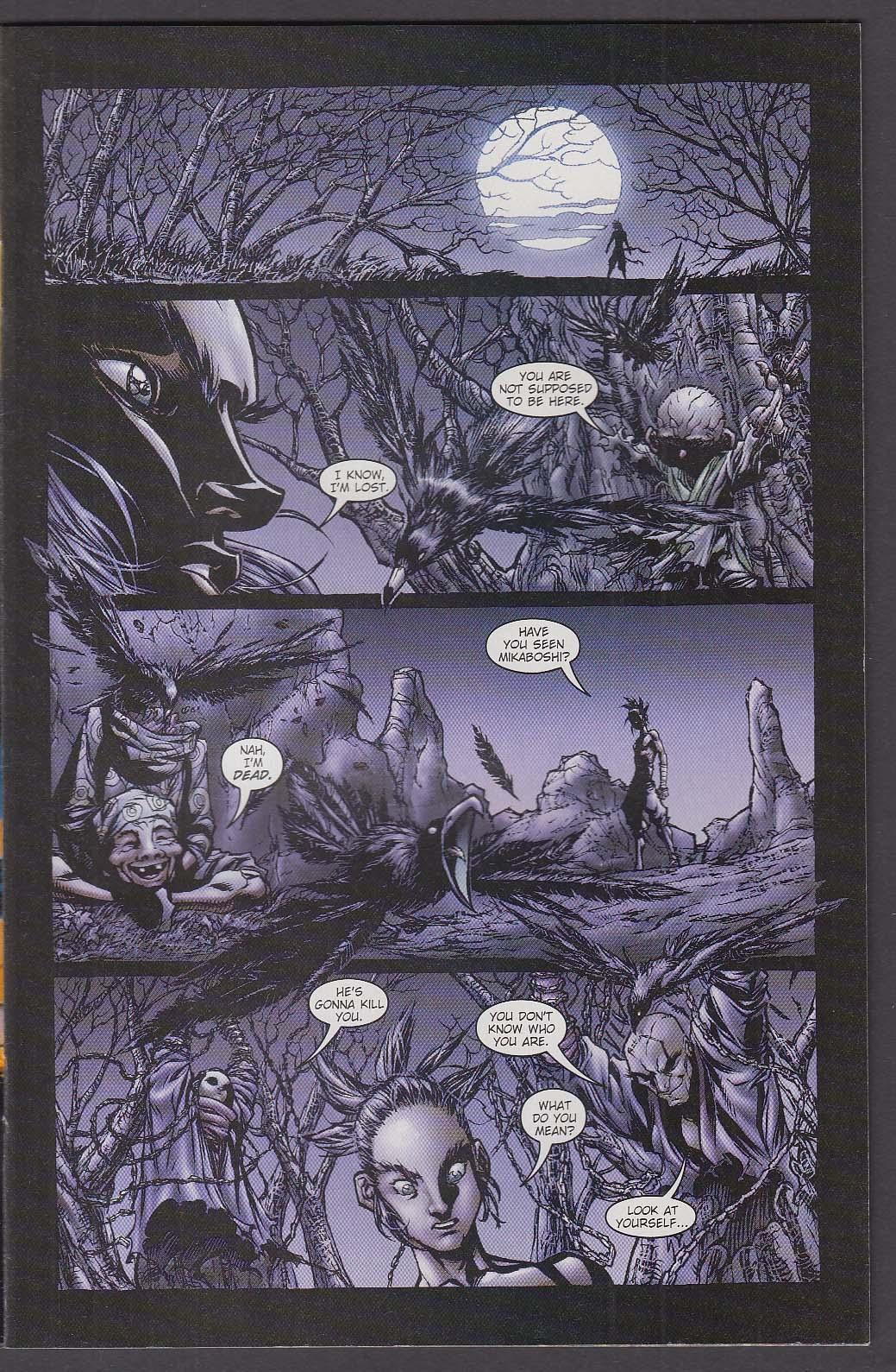 NINJA BOY #5 WildStorm comic book 2 2002