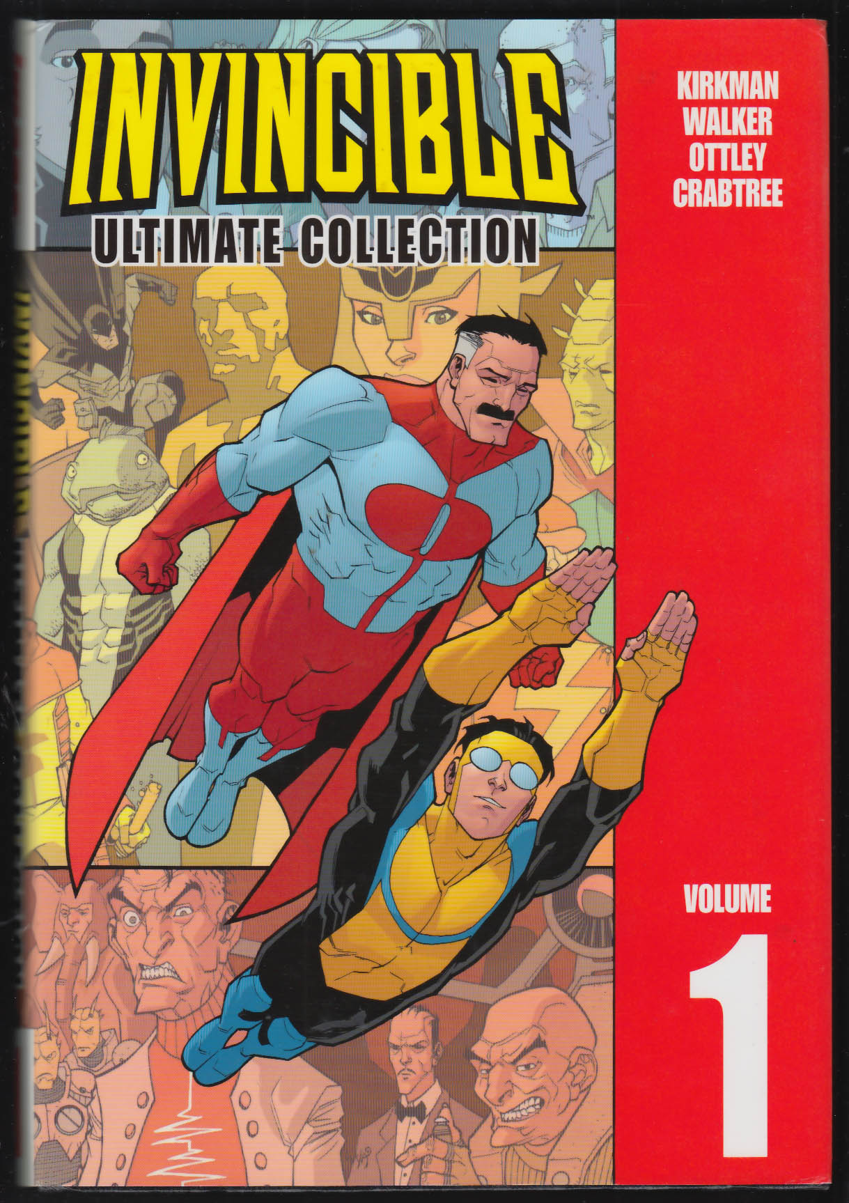 INVINCIBLE Ultimate Collection Volume 1 Image comic book 2005 2nd printing