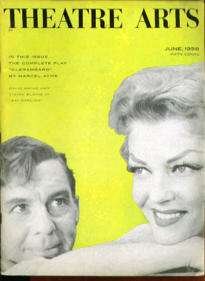 Ionesco essays Clerambard: Theatre Arts 6/58