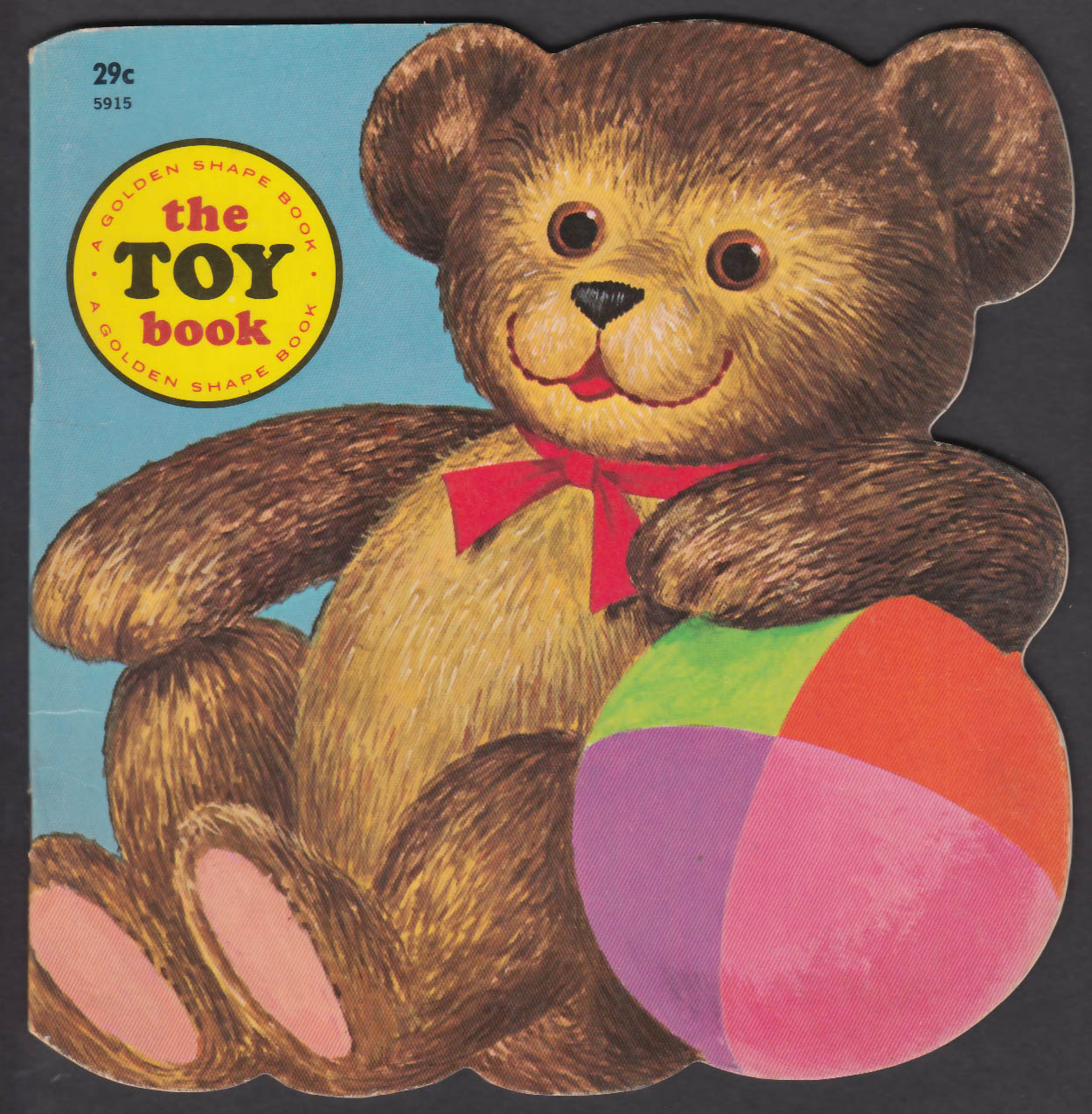 Image for The Toy Book Golden Shape Press 1965
