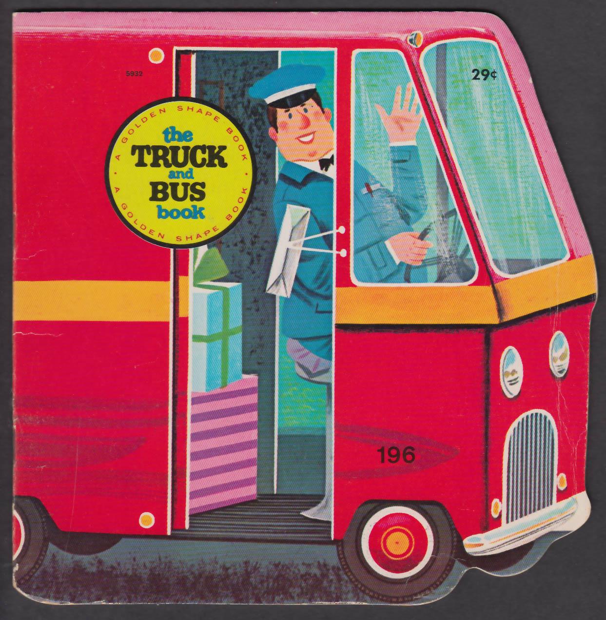 Image for Golden Shape Truck & Bus Book 1966