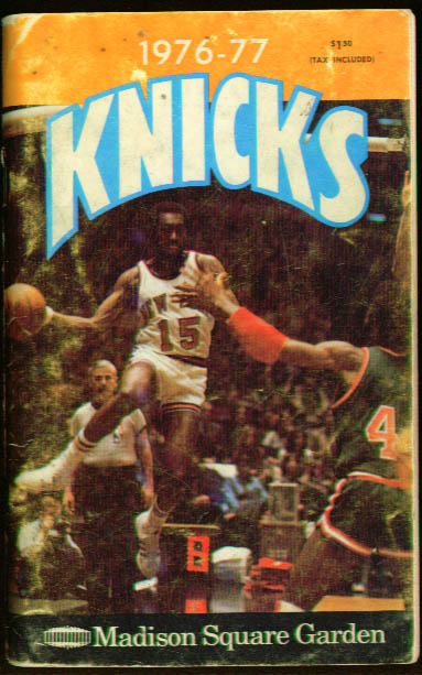 Image for New York Knicks Media Guide 1976-77