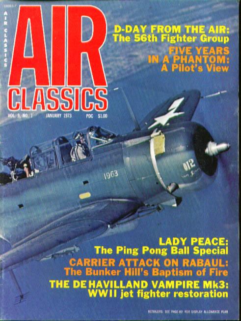 AIR CLASSICS De Havilland Vampire 56th Fighter Group Phantom Rabaul ++ 1 1973