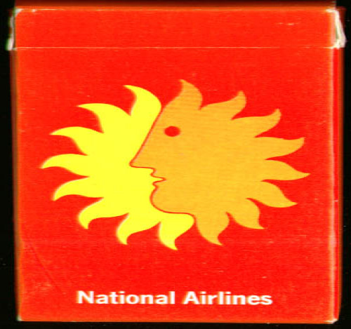 Image for National Airlines playing cards 1970s