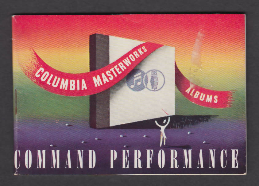 Columbia Records Masterworks Albums Command Performance 78rpm catalog