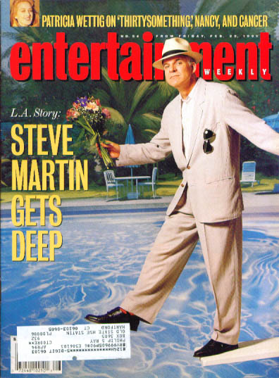 Steve Martin Patricia Wettig Ent Wkly 2/22/91