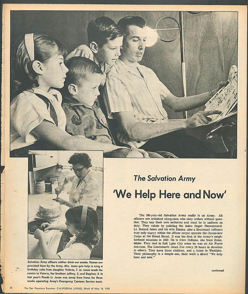 CALIFORNIA LIVING San Francisco Salvation Army Colorado Rapids ++ 5/16 1965