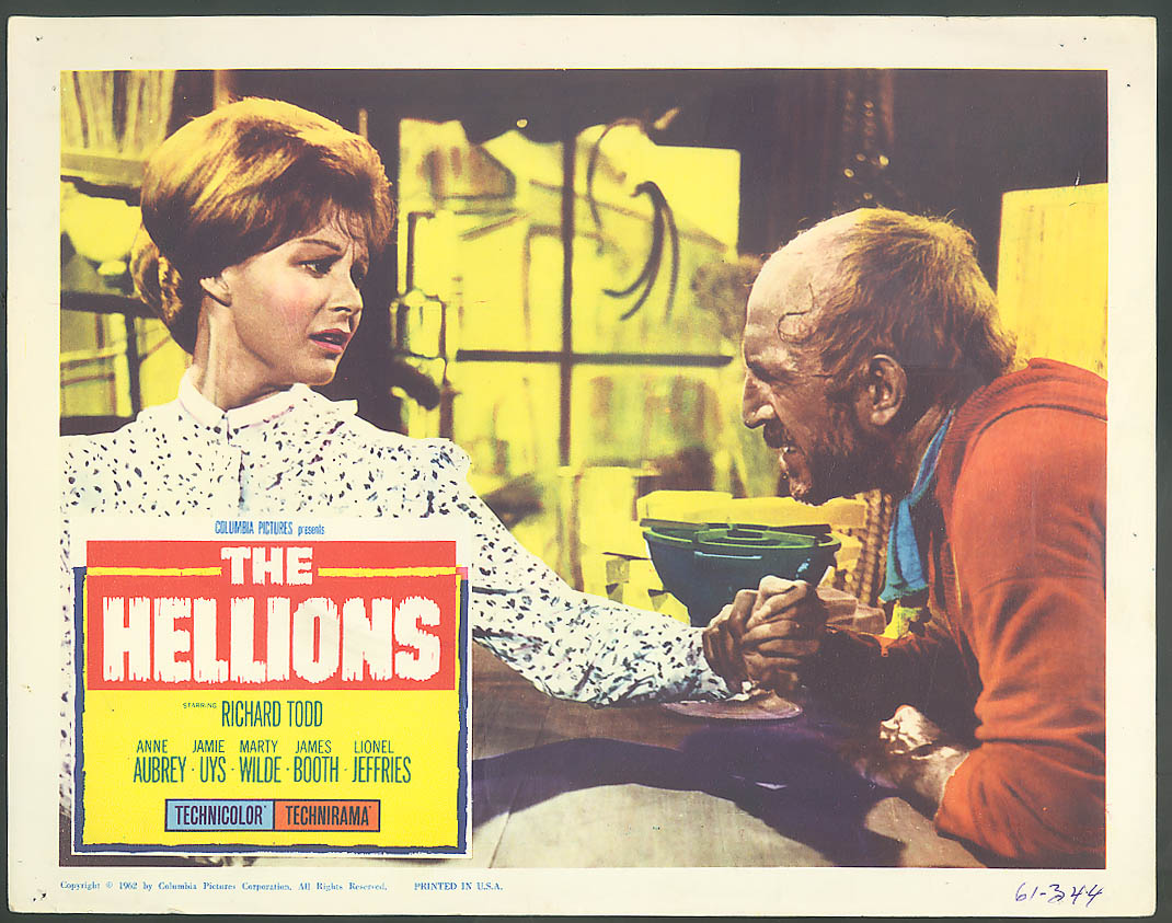 Image for Anne Aubrey in The Hellions lobby card 1962