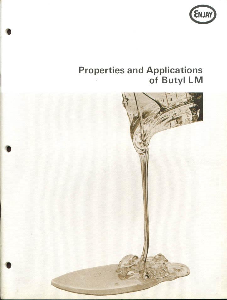Enjay Butyl LM Properties & Applications Manual 1970