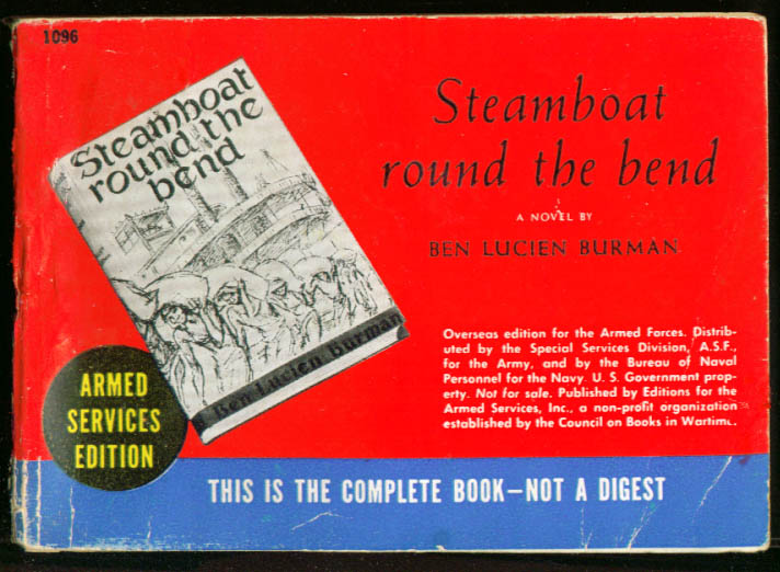 ASE 1096 Ben Lucien Burrman: Steamboat Round the Bend
