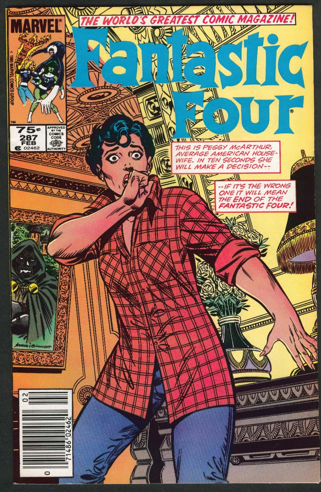 Image for FANTASTIC FOUR #287 Marvel comic book 2 1986