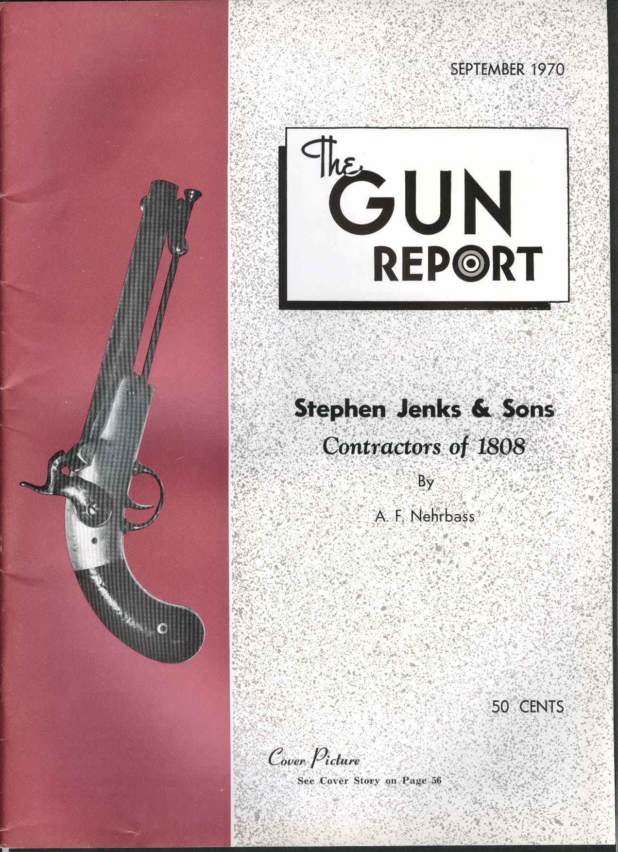 GUN REPORT Stephen Jenks & Sons Contractors 1808 9 1970