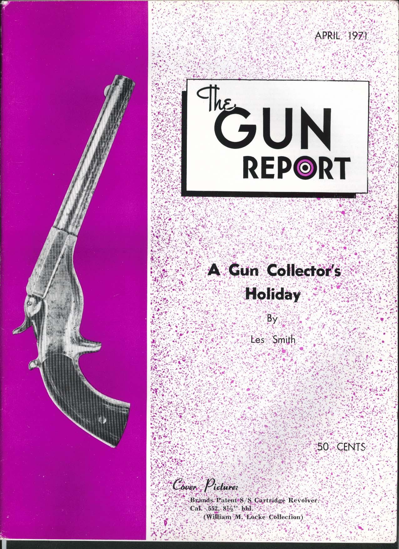 GUN REPORT Brands Patent S/S Cartridge Revolver 1861 1862 Rifle Musket + 4 1971