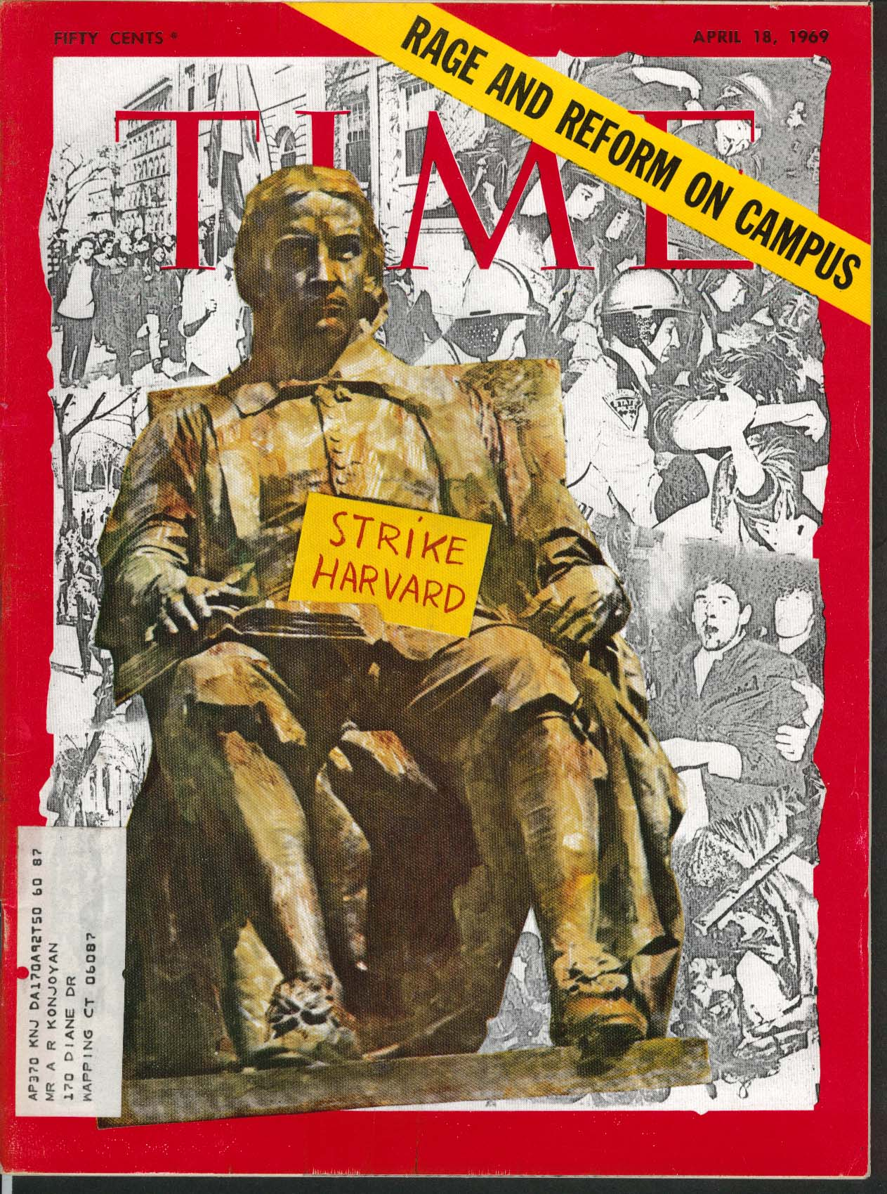 TIME Harvard Strike Russian Fisherman off US 4/18 1969