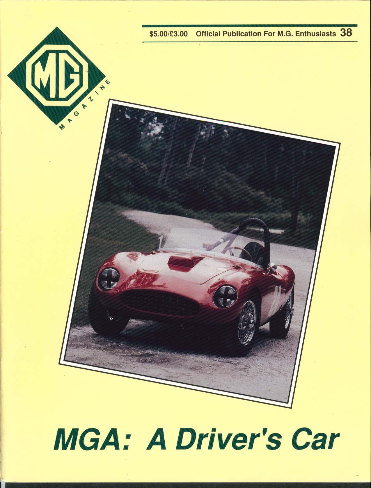 MG MAGAZINE #38 Midget Marcus Chambers NAMGBR ++ 1991