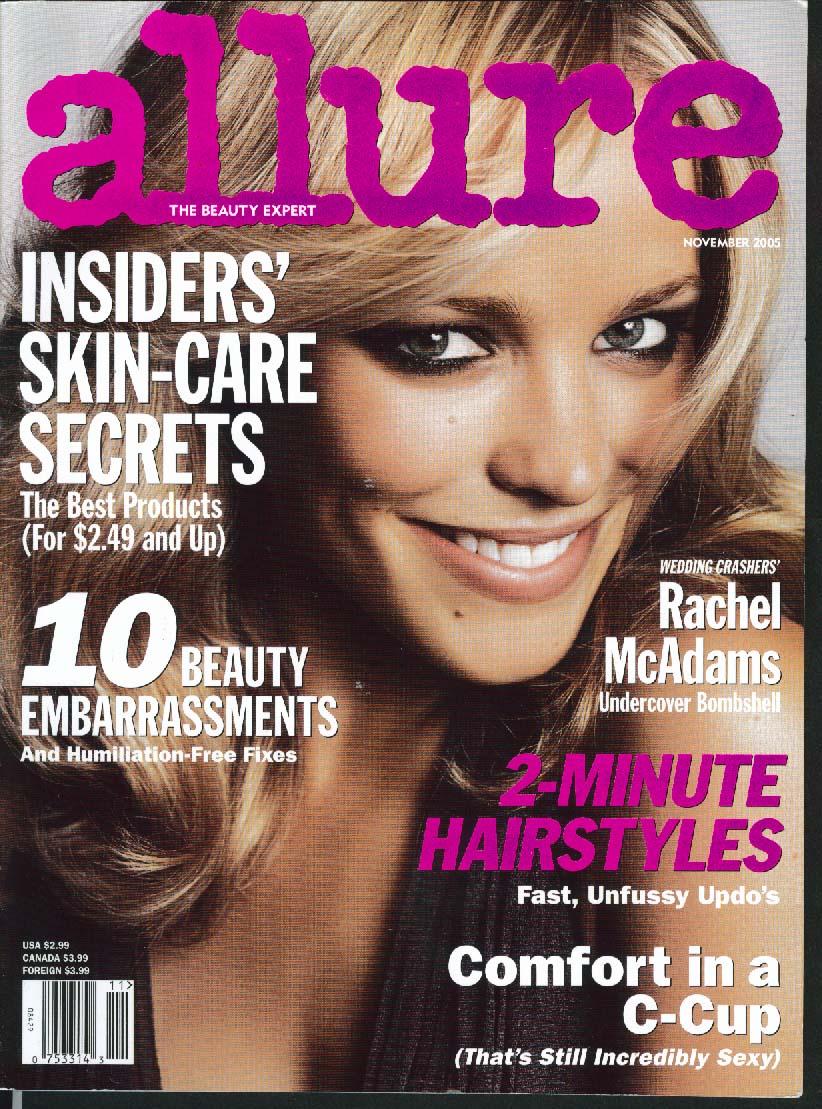 ALLURE Rachel McAdams Nicole Richie ++ 11 2005